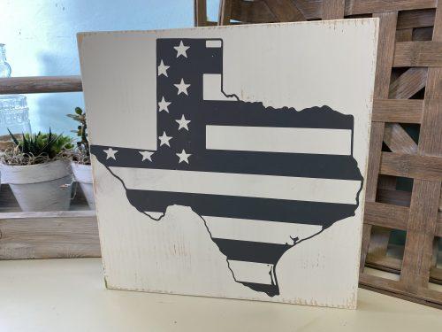 Texas US Flag